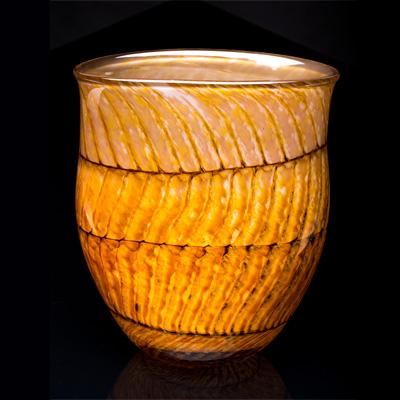 John Krizan Satellite GlassWorks basket series